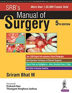SRB's Manual of Surgery pdf free download