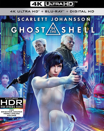Ghost In The Shell 4K (La Vigilante del Futuro 4K) (2017) 2160p 4K UltraHD HDR BluRay REMUX 54GB mkv Dual Audio Dolby TrueHD ATMOS 7.1 ch