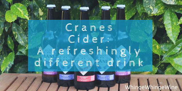 Cranes cranberry cider: A review of a refreshingly different drink