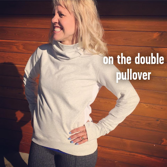 lululemon on-the-double-pullover herringbone-gather-and-crow-crop