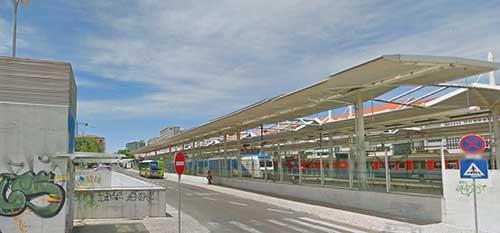 Roma-Areeiro Station, Lisbon.