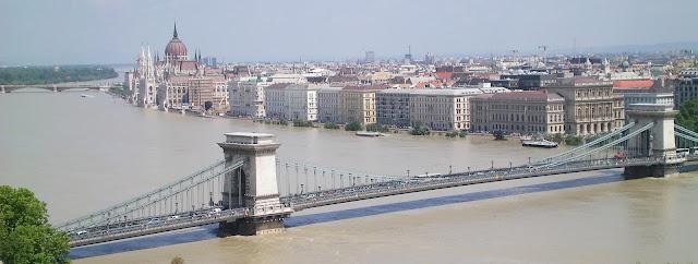 Puente Budapest y Parlamento