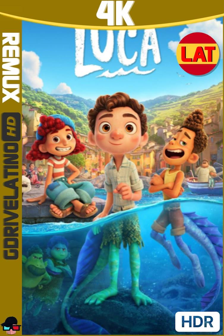 Luca (2021) BDRemux 4K HDR Latino-Ingles MKV