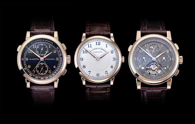 """A. Lange & Söhne """"Homage to F. A. Lange"""" special editions"""