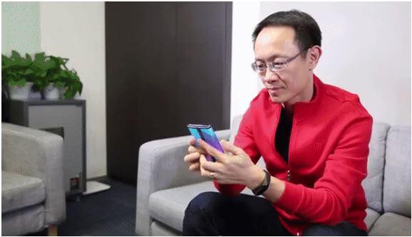 هاتف شاومي القابل للطي