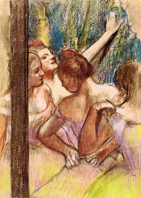 Эдгар Дега - Танцовщицы (ок.1896)