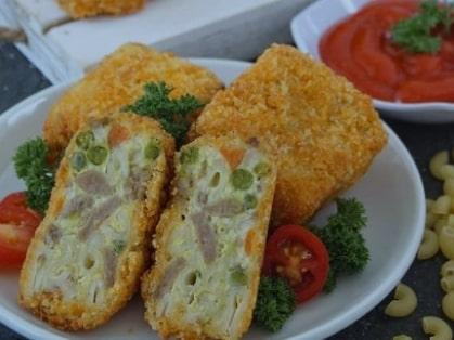 Resep Macaroni Schotel Goreng