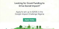 Participate on Google Impact Challenged Nigeria to Win up to $250k