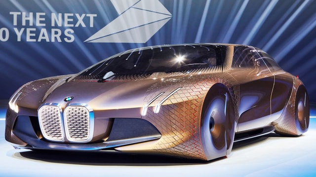 BMW Vision NeXT 100 - car celebration for 100 years to come