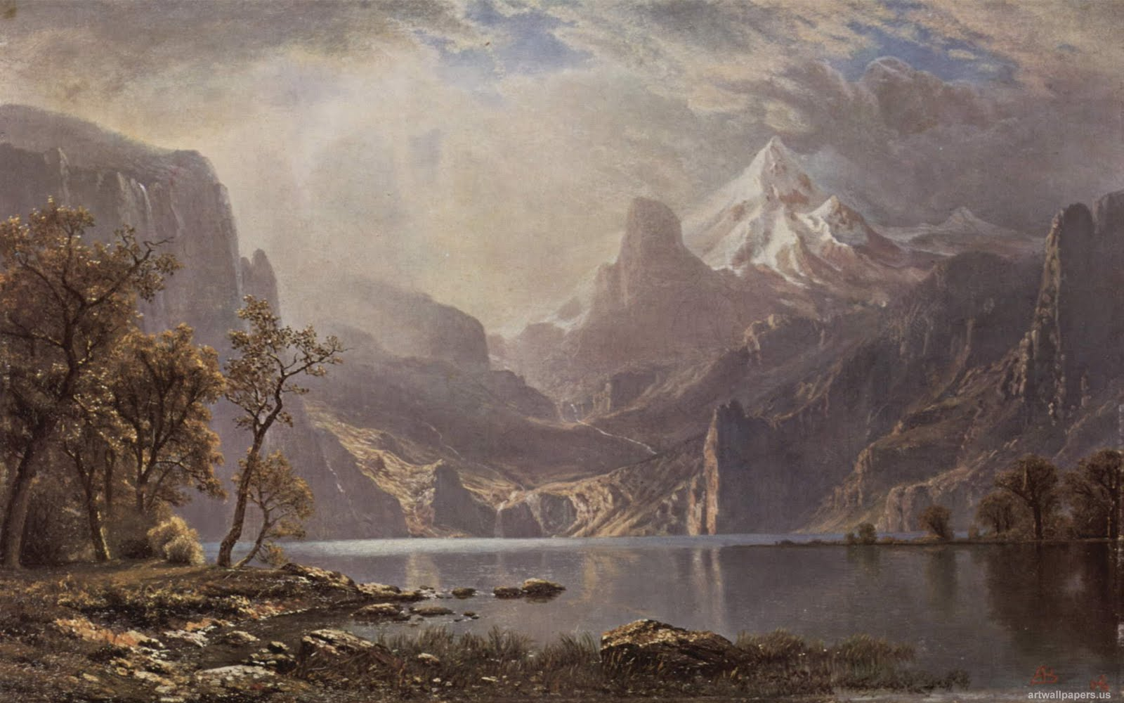 Art Wallpapers Albert Bierstadt Wallpapers