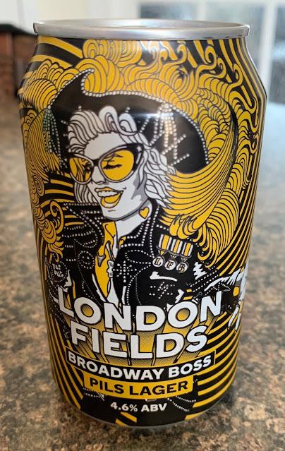 roadway Boss Pils Lager (London Fields Brewery)