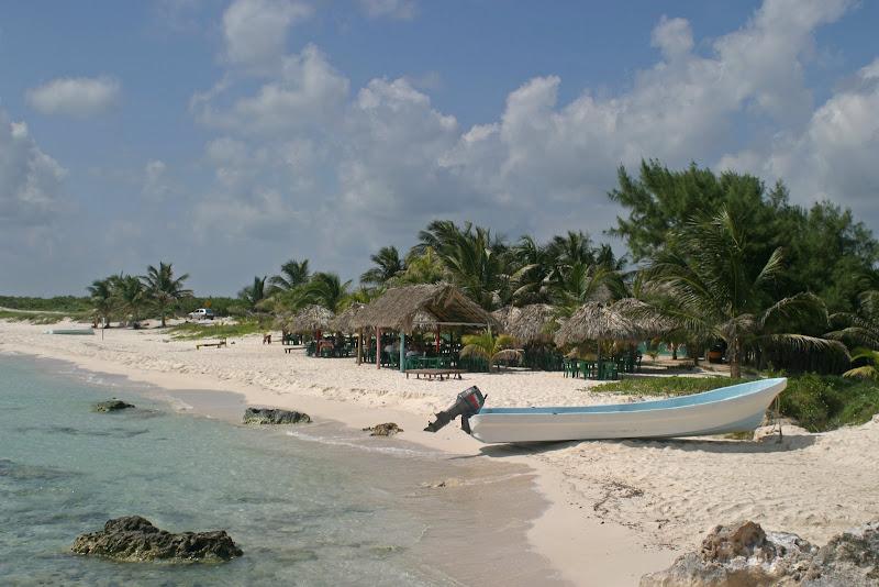 Пляжи Плайя-Чен-Рио в Косумель, Мексика