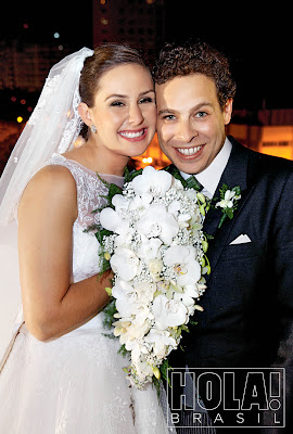 casamento nobre Revista Hola!   Manuela Sève & Edouard de Waldner