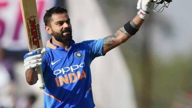 विराट कोहली, आईसीसी नंबर वन वनडे बल्लेबाज