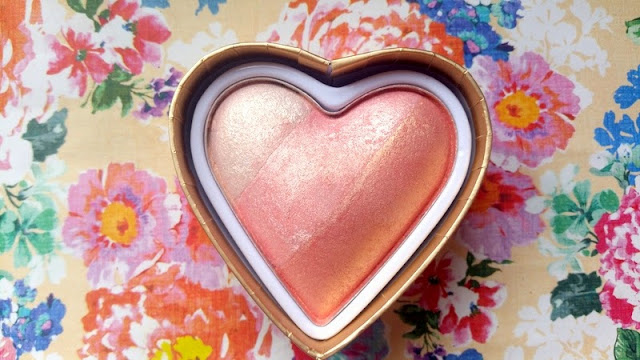 Makeup Revolution Triple Baked Blushing Heart Review & Swatches