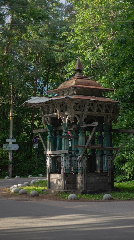 Зодчество Сестрорецки беседка архитектура деревянная конструкция
