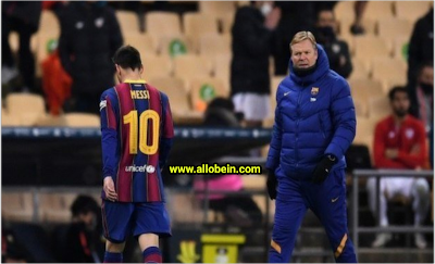 Koeman comments on news of Messi association with Paris Saint Germain