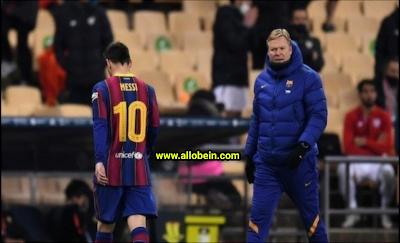Koeman comments on news of Messi association with Paris Saint Germain
