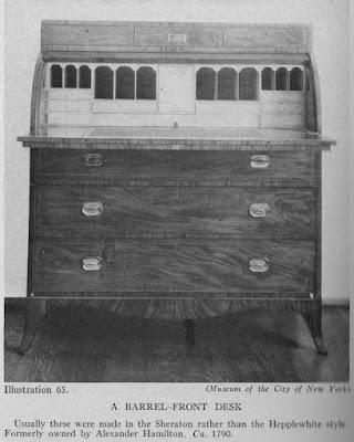 Barrel Front Desk