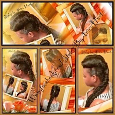 Braid, vintage hair style
