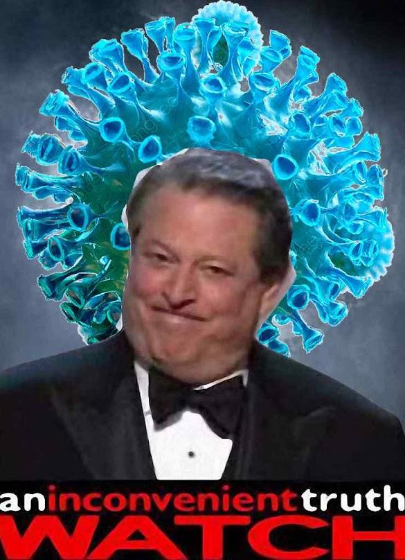 O ex-vicepresidente Al Gore ficou como o bardo do catastrofismo tirânico com qualquer pretexto
