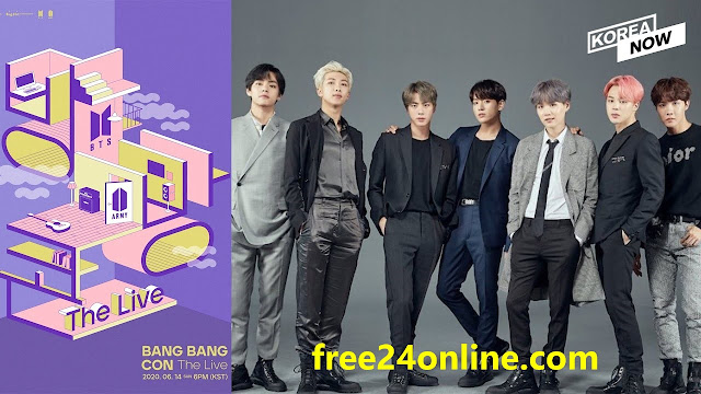 BTS Live Stream 'Bang Bang Con the Live Online Concert 14-6-2020