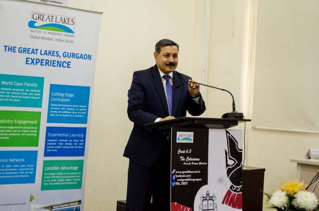 Mr. Prabhat Singh, Managing Director and CEO, Petronet LNG Limited, addressing the students