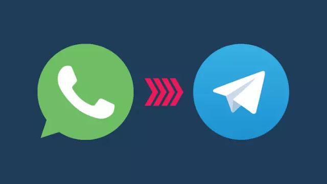 نقل سجل الدردشة من واتس اب إلى تلغرام