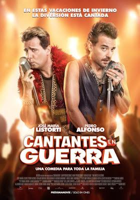Cantantes En Guerra 2017 DVDCustom HDRip Latino