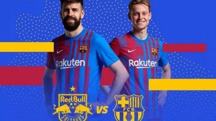 Barcelona to face Red Bull Salzburg in pre-season friendly