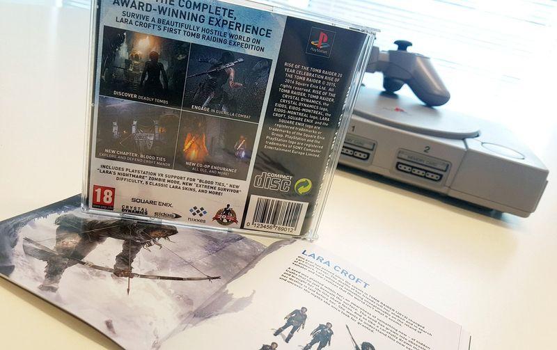 Το Rise of the Tomb Raider σε PS1 case (που όμως δεν μπορείς να αγοράσεις) 2