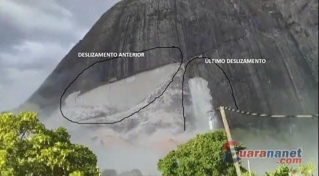 VEJA VÍDEO: Novo deslizamento de rocha aumenta a preocupação dos moradores do Córrego do Ouro em Guaratinga
