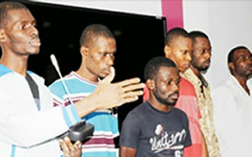 DSS Parades Suspected Kidnappers of Jonathan's Uncle