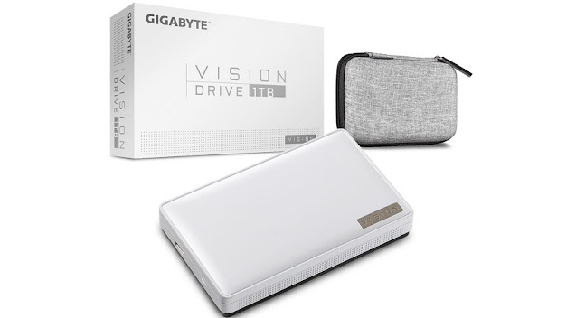 Gigabyte Launches its Vision Drive External SSD
