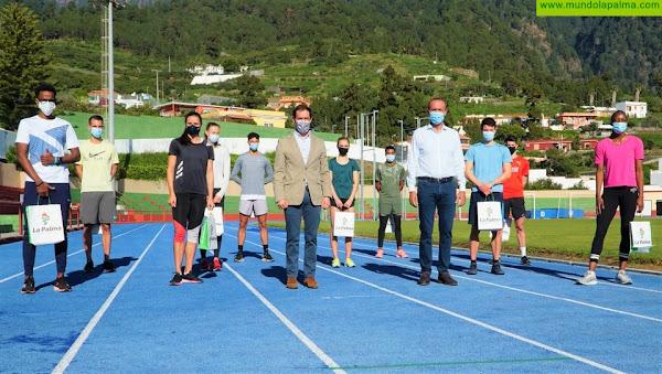 La selección suiza de atletismo elige La Palma para prepararse de cara a la cita olímpica