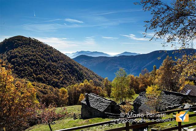 Alpeggio di Scierz e monte Giove