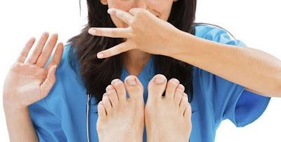 Tips untuk Menghilangkan Bau Kaki
