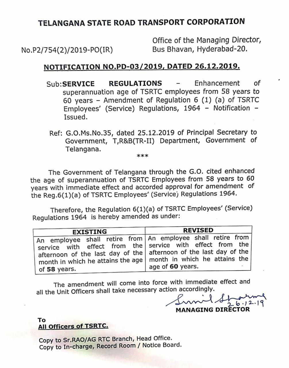 TS TSRTC Employees Retirement Age Enhanced from 58 to 60 years/2019/12/ts-tsrtc-employees-retirement-age-enhanced-to-60-years.html