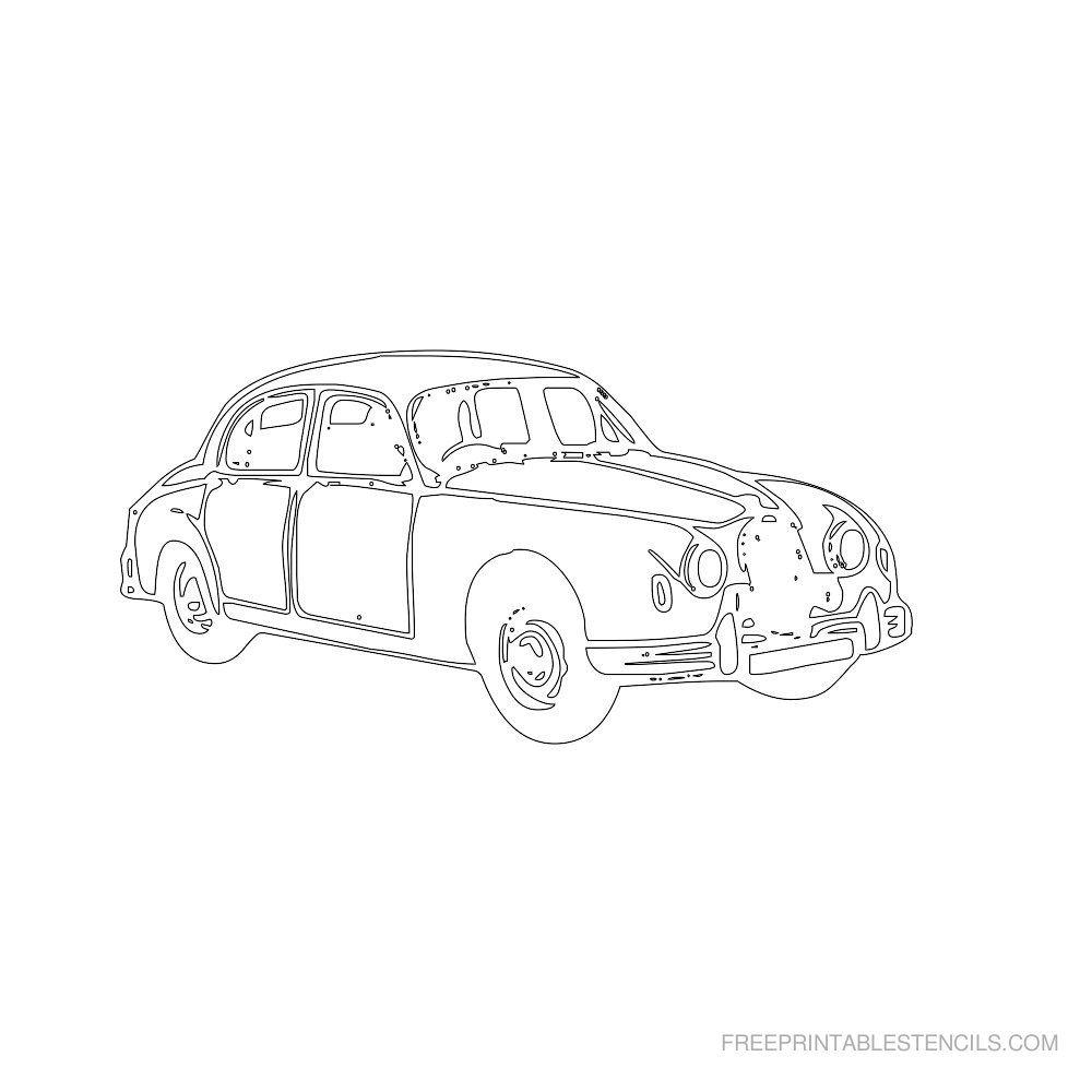 Auto Schablonen Zum Ausdrucken