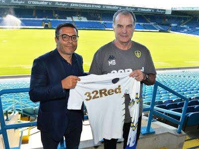 Shocker: Championship high flyers Leeds United considered Antonio Conte, Claudio Ranieri, Roberto Martinez before Marcelo Bielsa