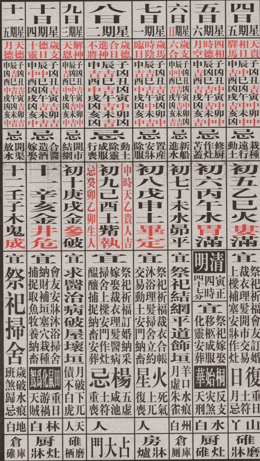 round and square  china u0026 39 s lunar calendar 2014 04