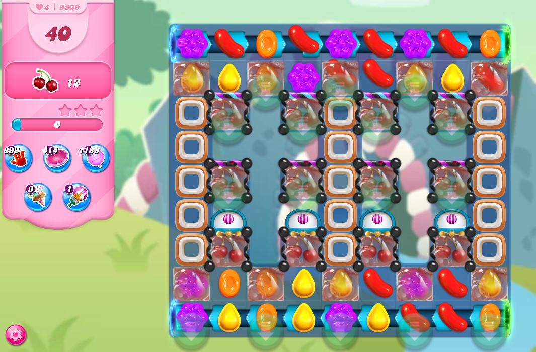 Candy Crush Saga level 9509