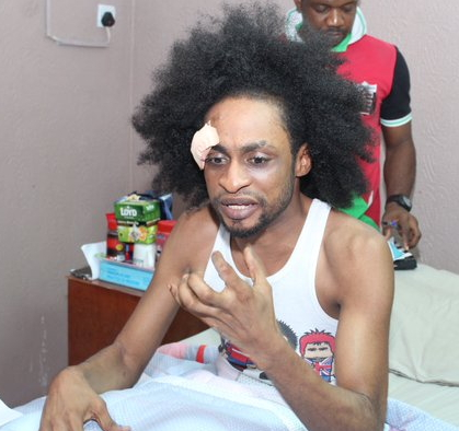 denrele edun attacked nollywood movie director