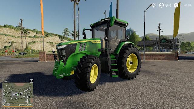 John Deere 7R EU Tractor V1.0