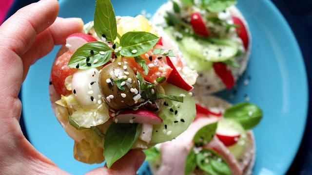 kupiec,zdrowa radosc zycia,wafle ryżowe,zero waste,dania z resztek,najlepszy blog kulinarny,z kuchni do kuchni,kasia franiszyn luciano,zdrowe przekąski,impreza,fit jedzenie
