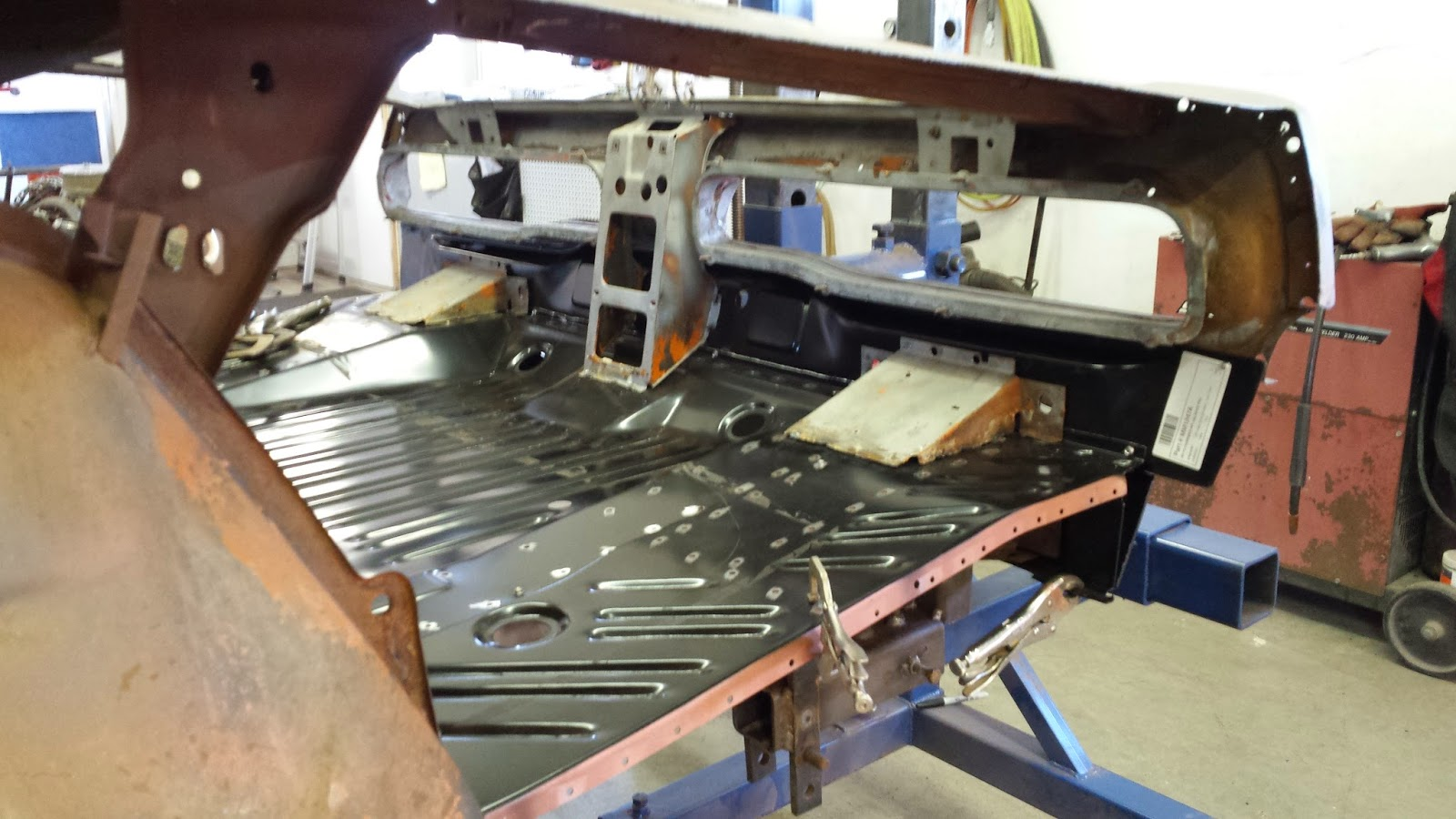 1970 Charger sheet metal fit