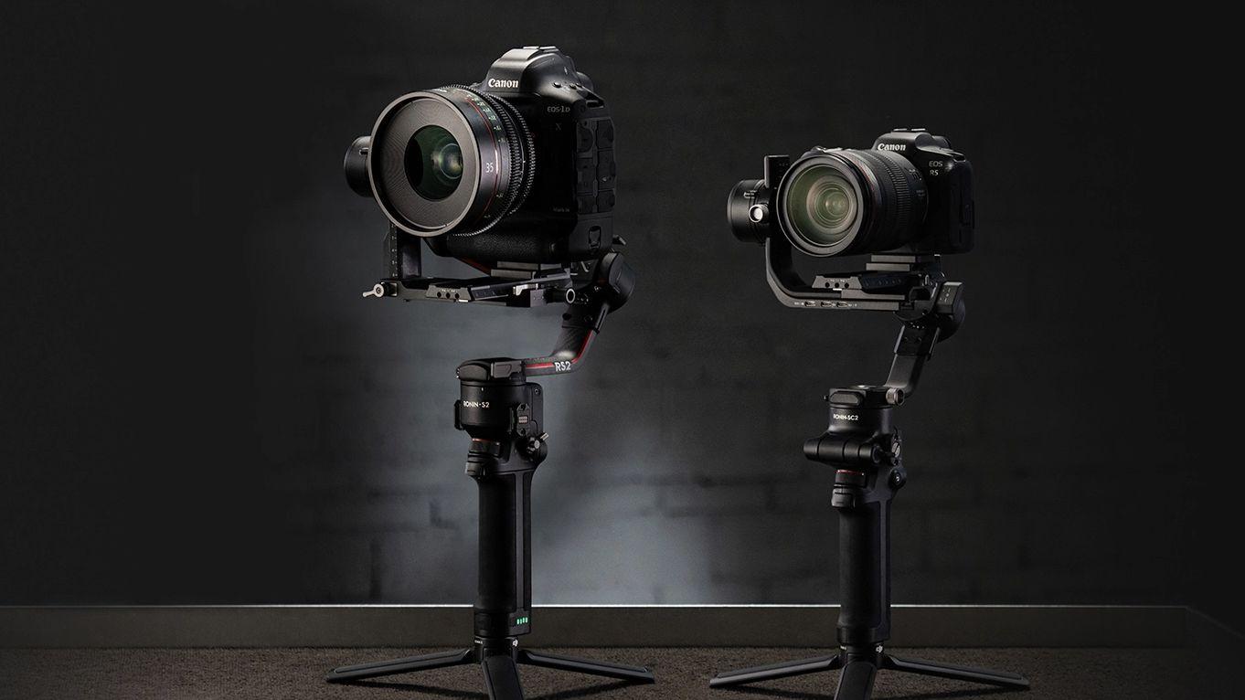 DJI RS 2 и RSC 2 с камерами