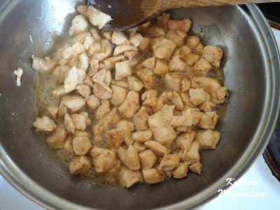 Kurczak w sosie serowym