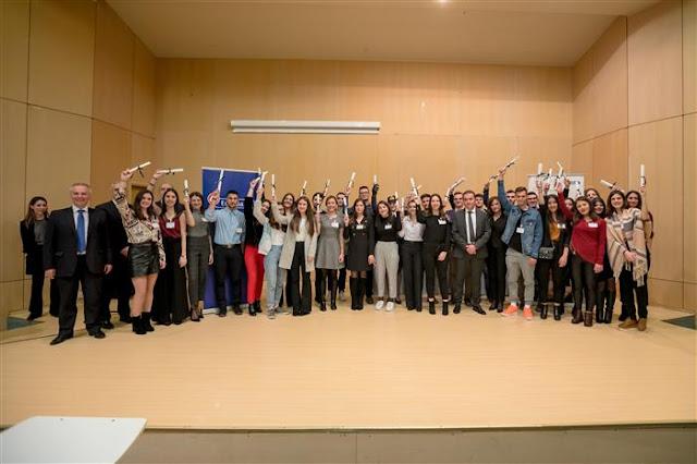 Η Eurobank βράβευσε 65 μαθητές από την Πελοπόννησο -  Για 4η φορά βραβεύθηκε το 2ο Λύκειο Ναυπλίου
