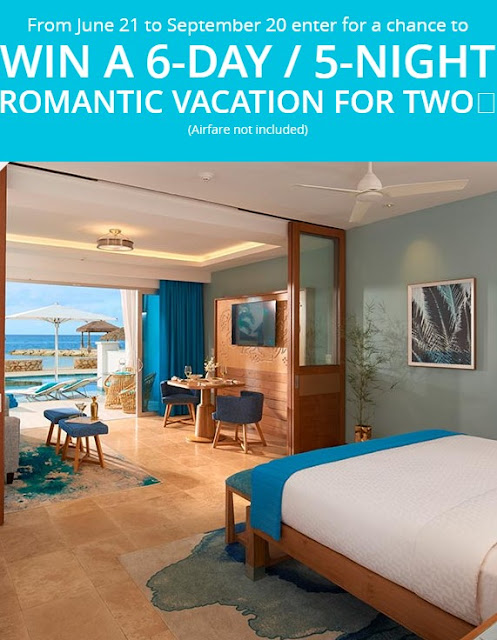Sandals Resorts is giving away THIRTEEN luxury level vacations to the Sandals Resort of your choice worth nearly $6000 each!